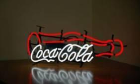 Неон Люкс кока-кола