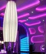 освещение фойе кинотеатра