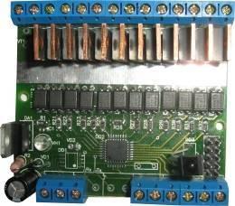 12-канальный dmx контроллер