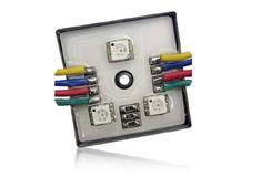 Герметичные светодиодные RGB модули с тремя smd светодиодами