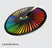 Веерная раскладка цветов трубок Технолюкс