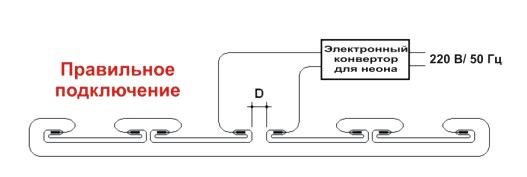 Схема правильного подключения конвертора