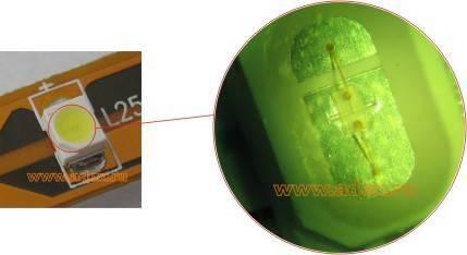 однокристальный светодиод в корпусе smd
